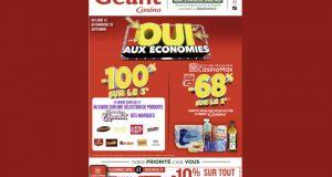 Catalogue Casino du 13 septembre au 26 septembre 2021