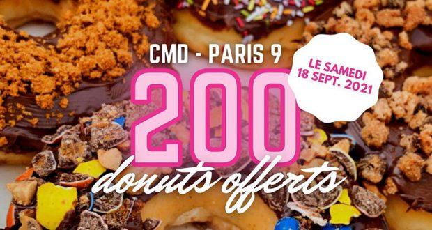 Un donut offert aux 200 premiers