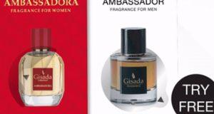 Échantillons gratuits de parfum Gisada