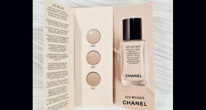 Échantillons gratuits du fond de teint Les Beiges de Chanel