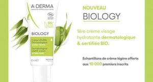 10 000 échantillons gratuits de la Crème Légère A-Derma Biology