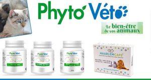 10 lots de 4 produits Phyto Véto offerts