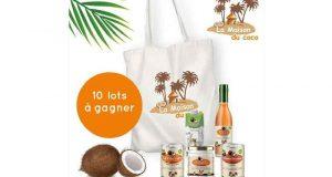 10 lots de produits La Maison du coco offerts