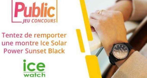 12 Montres Ice Watch Solar Power offertes