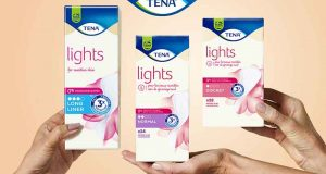 1500 gammes de protège-slips TENA Lights à tester