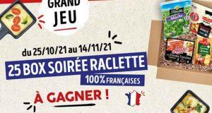 25 box soirée raclette offertes