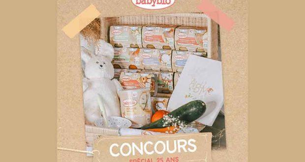 25 kits bébé BabyBio offerts