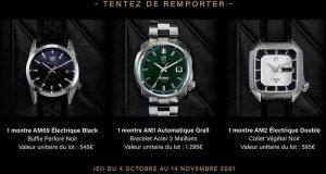 3 montres March LA.B offertes (de 545 à 1295 euros)