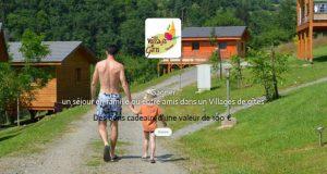 30 chèques cadeau Villages de Gîtes de 100 euros offerts