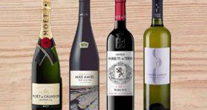 30 coffrets de vin offerts