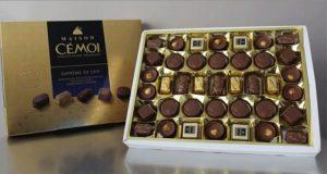30 lots de 7 kilos de chocolats Cémoi offerts