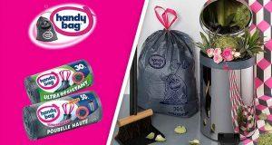 3000 nouvelles gammes de sacs poubelle handy bag à tester