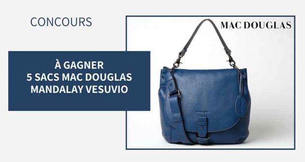 5 sacs Mac Douglas Mandalay Vesuvio offerts