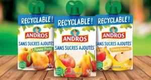 500 gammes de Gourdes Recyclables Andros à tester