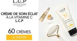 60 Crème de soin éclat à la vitamine C - L.C.P Paris à tester