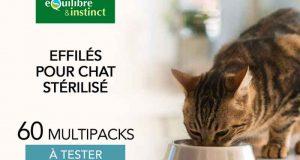 60 Multipack d'effilés pour chat stérilisé à tester