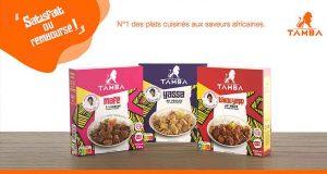 Plat cuisiné africain TAMBA 100% Remboursé